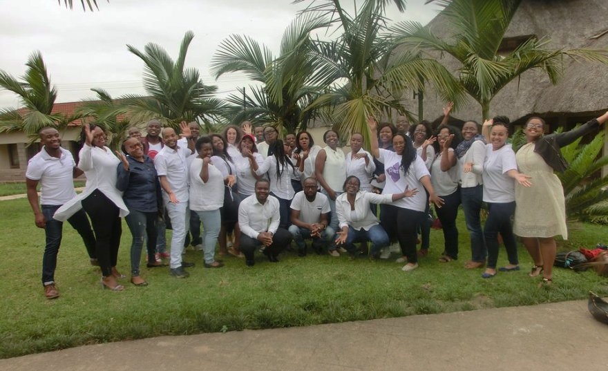 Pact's Eswatini team. (Credit: Pact)