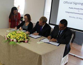 New partnership in Myanmar a model for development