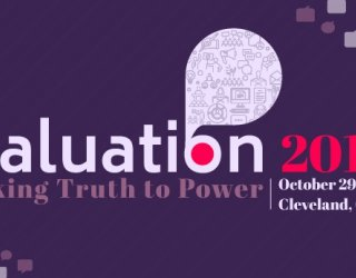 In Cleveland, Pact joins global evaluators in 'speaking truth to power' at evaluation conference