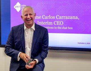Veteran international development leader Carlos Carrazana joins Pact as interim CEO