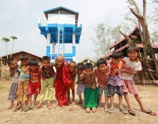 In Myanmar, clean water to cook, bathe and grow food – all for about $2