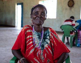 """""""Peace is an action of transformed thinking"""": A community change agent in Kenya makes peace her life's work"""