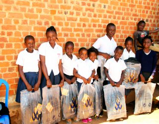 Kits for kids: Keeping children in the classroom and out of mines in DRC