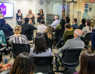 Women who work discussing women at work – a panel in celebration of International Women's Day