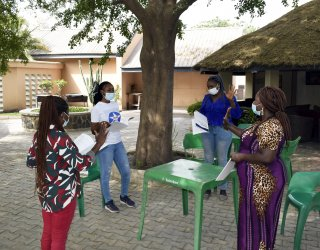 Pact-led ACHIEVE project adapts violence-prevention training for Covid-19